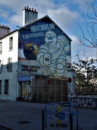 Fresque Bibendum Michelin
