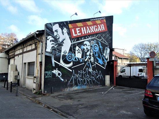 Fresque Le Hangar