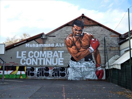 Fresque Muhammad Ali