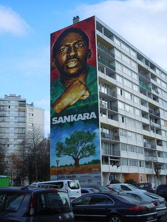 Fresque Thomas Sankara