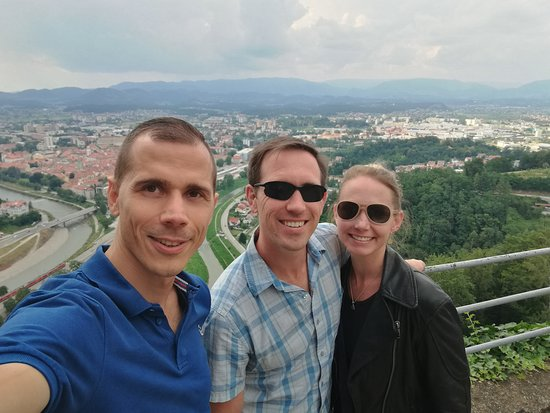 Holiday Car Service Budapest: Celje from the castle