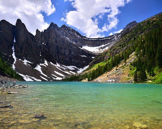 Canada: Ruta de los lagos desde el lago Louise, en el parque nacional de Banff