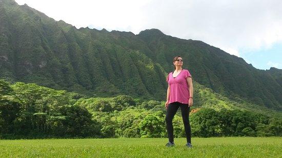 Hawaiian Waterfall Hike: Beautiful surroundings