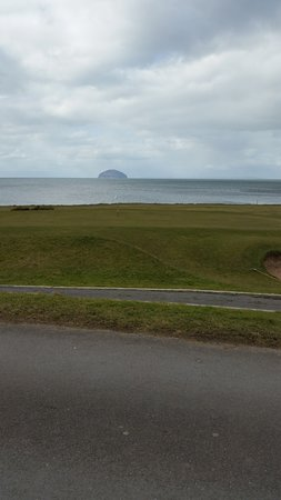Ailsa Craig over Turnberry