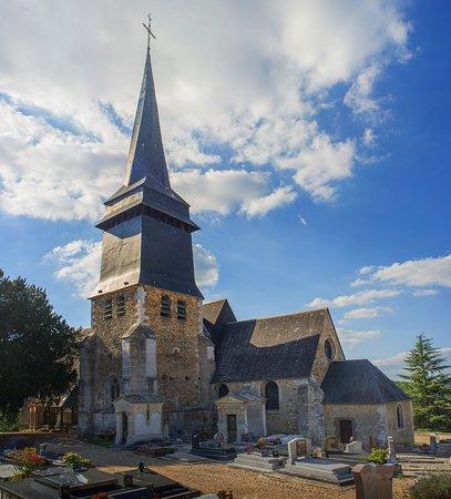 Eglise Saint Aubin sur Gaillon