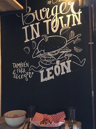 Un agradable burguer en León