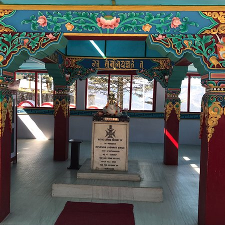 Memorial in the name of brave soldier Jaswant singh