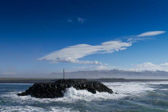 Westmann Islands, Ισλανδία: On the ferry to Westmannaeyar