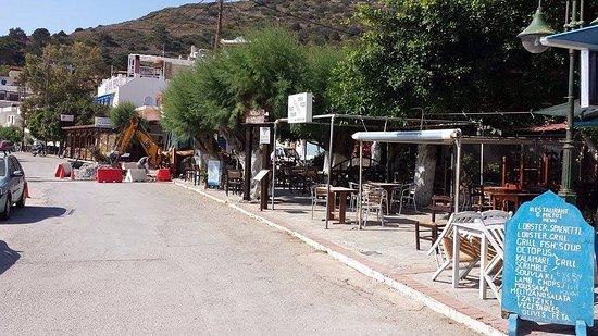 Fourni, Yunani: location of cafe