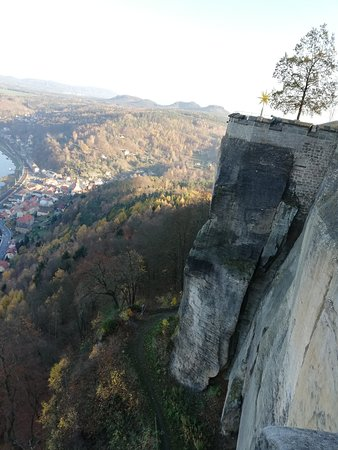 Koenigstein, Germany: View from above :)