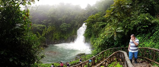 Tenorio Volcano National Park, Costa Rica: Beautiful waterfalls in the heart of a lush jungle, rio celeste is one of the most rewarding hikes near la fortuna.