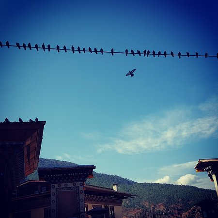 Thimphu District, Bhutan: The sky is the daily bread of the eyes.   Ralph Waldo Emerson