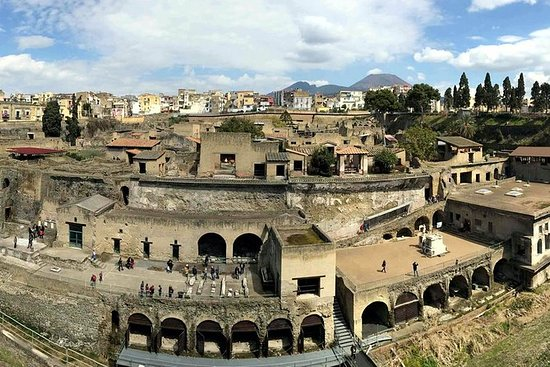 Day Trip to Herculaneum Ruins & Mt...