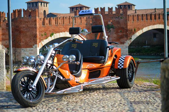 Verona Airport Transfer by Trike