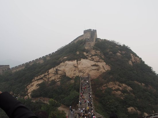 The Great Wall of Gubeikou: View from the highest point
