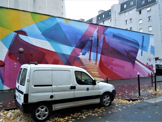 Fresque Abstrait 05