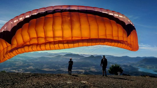 Algodonales, Spain: Earlymornign mountain flights