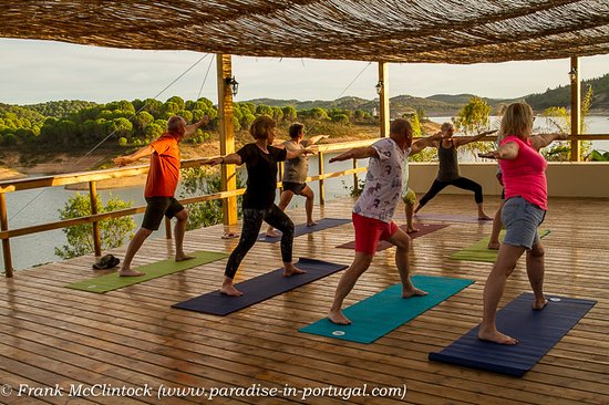 Santa Clara a Velha, Portugal: Yoga for all ages and proficiencies