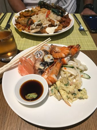 Dinner at Yogyakarta Kitchen : fisherman's market themed buffet dinner