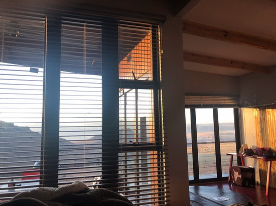 Omega Luxury Mountain Retreat: view from the bed