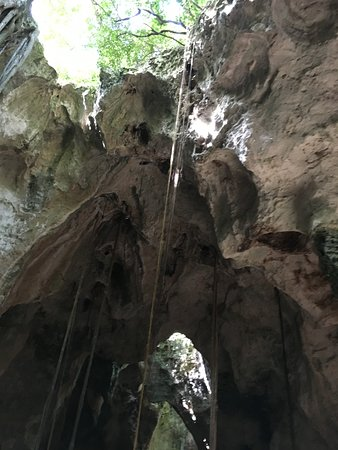 Cathedral Cave (Spider Cave): Another view from inside the cave