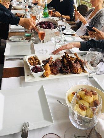 Sol de Mallorca, Spanyol: Excellent goose lunch!