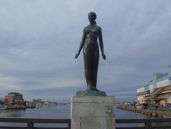 Haru Statue