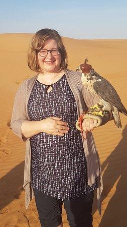Small-Group Tour: Falcon 2—Dubai Falconry Safari: Me!