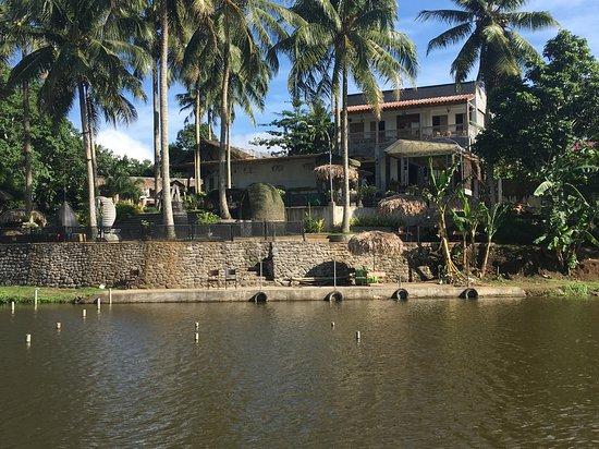 "Camalig, ฟิลิปปินส์: Socorro's""  taken from the lake"