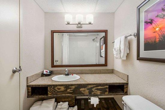 Ramada Plaza by Wyndham Nags Head Oceanfront: Guest room bath