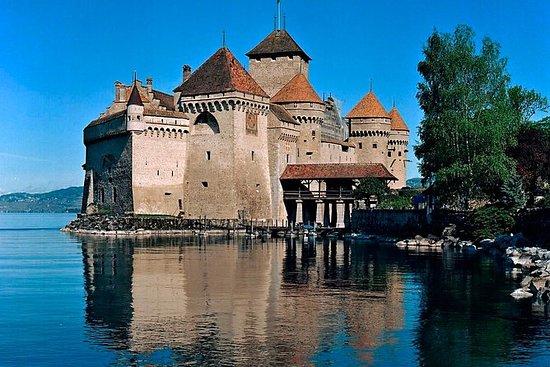 Montreux, Château de Chillon och ...