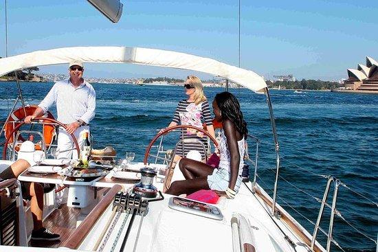 Sydney Harbour Luxury Sailing Trip...