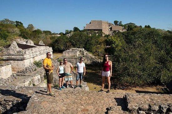 Ek Balam Ruins and Cenote Maya Park...