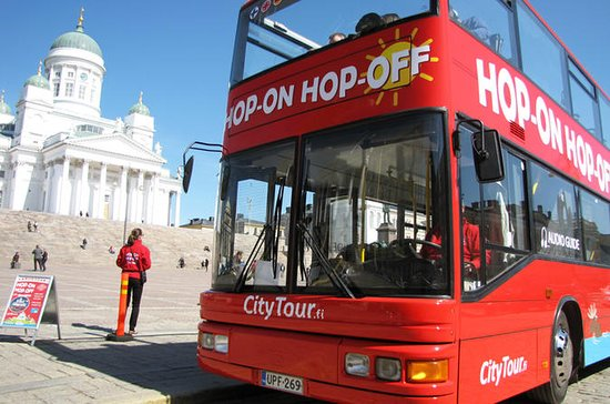 Hop-on hop-off-ticket per rode bus in ...