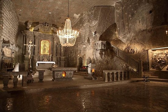 Salt Mine Guides Tour in Wieliczka...