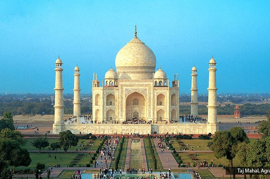 Excursão de um dia ao Taj Mahal