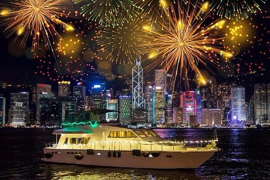 Hong Kong Chinese New Year Firework...