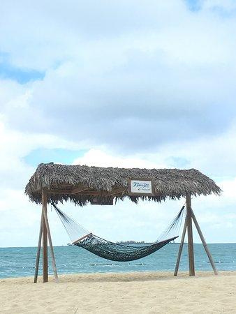 The beachfront.
