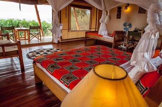 Marafiki Safari Lodge: Breath taking views from your bed