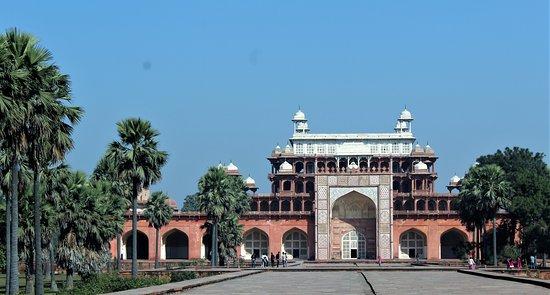 Sikandra, mausolée d'Akbar