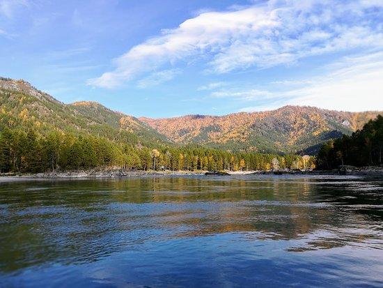 Askat, Russia: Катунь в районе озер