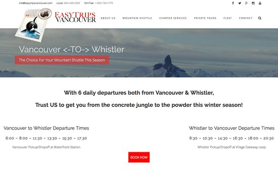 Easy Trips Vancouver - Day Tours