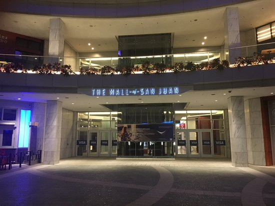 The Mall of San Juan: Front entrance