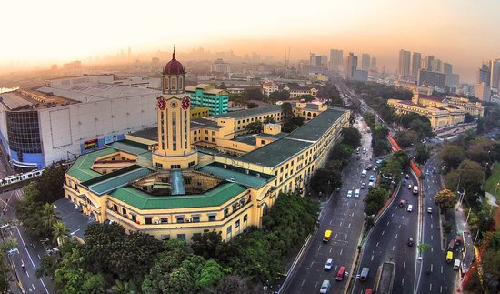 Metro Manila, Φιλιππίνες: Manila City Hall taken by my Mavic Pro. Drone flying is still not tat strict in the Philippines but better be responsible by keeping away from no fly zones.