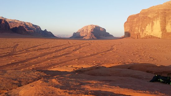 Full-Day Wadi Rum from Aqaba: Stunning desert views are everywhere you look!