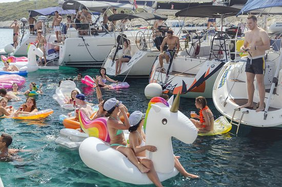 Party Sailing Route - 8 day skippered...