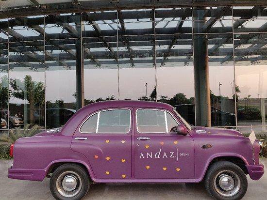 """""""एक अलग ही अंदाज़.... Andaz Delhi-a concept by Hyatt... """""""