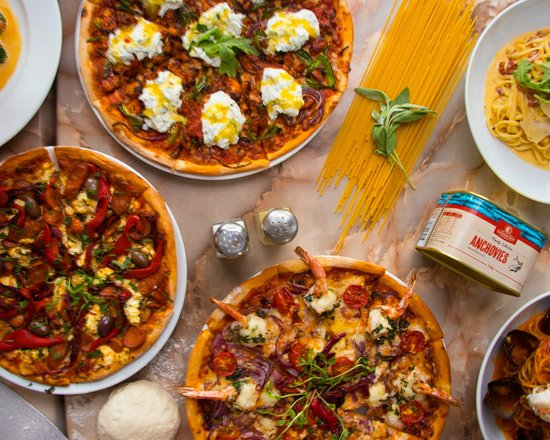 Sutherland, Australia: here is a range of the wonderful pizzas, pastas and more that we offer.