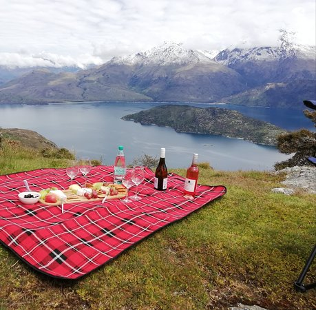 Picnic on top of the mountains