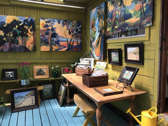"Cydette Studio and ""Treehouse Gallery"""